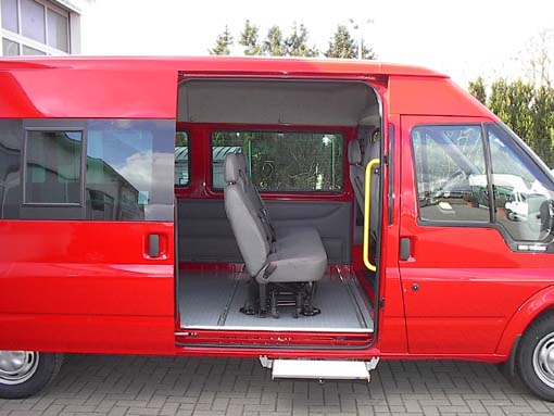 transporter ford transit zum wohnmobil reisemobil. Black Bedroom Furniture Sets. Home Design Ideas