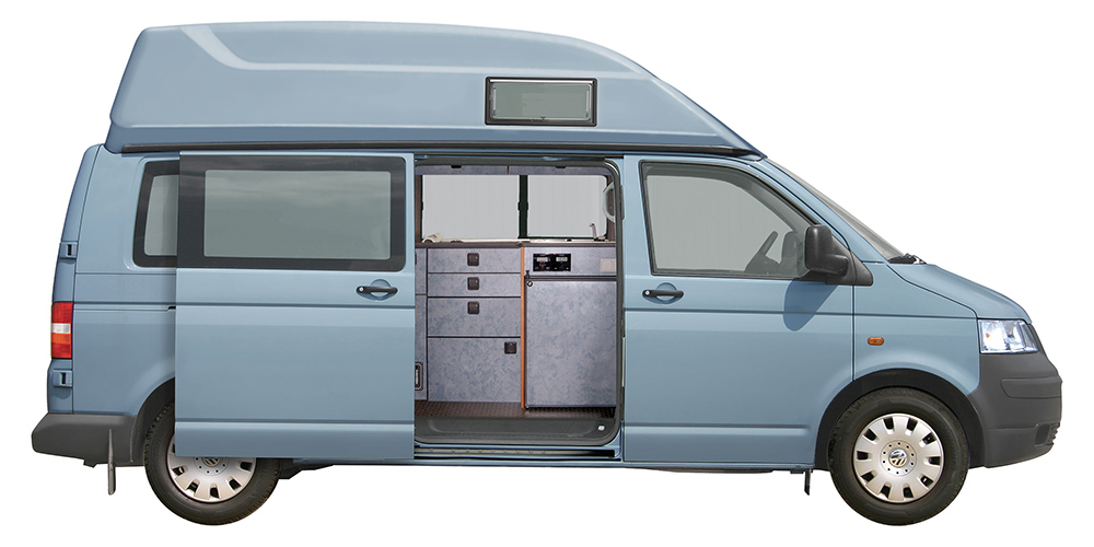 volkswagen t5 vw langer radstand hochdach sca 462 preiswerter einbau inkl t v abnahme. Black Bedroom Furniture Sets. Home Design Ideas